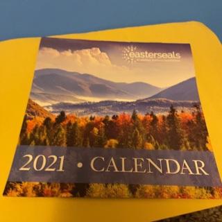 2021 EasterSeals Calendar & Mercy Ships Stickers (2)
