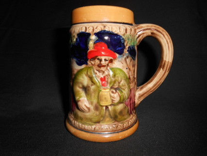 VINTAGE HAND PAINTED MINI BEER STEIN- JAPAN