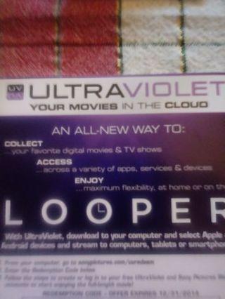 Looper VUDU Code