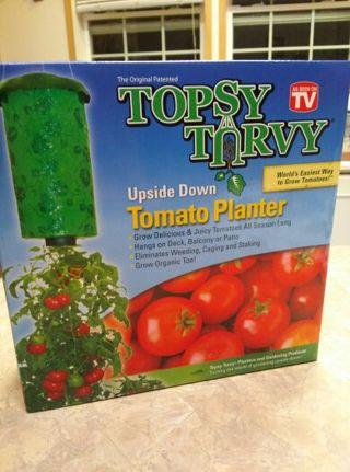 TOPSY TURVY, TOMATO PLANTER.