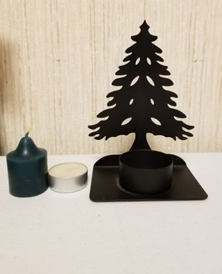 Christmas tree votive/tea light