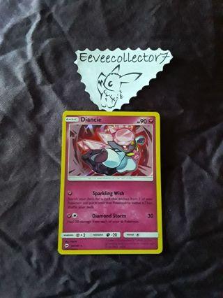 Pokemon Card Diancie 94/147 Holo