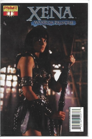 Xena #1 High End Photo Foil Cover Limited Series of 525 Copies
