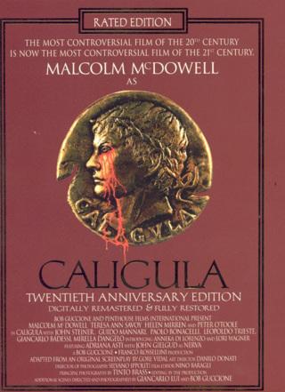 Caligula - DVD - 1979 Film - Malcom McDowell - Rated R