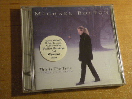 free michael bolton this is the time the christmas album cd with case and artwork - Michael Bolton Christmas