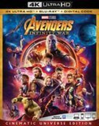 Avengers: Infinity War [Includes Digital Copy] [4K Ultra HD Blu-ray/Blu-ray] [2018]