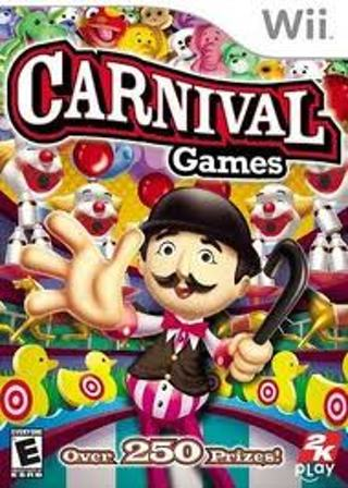 Carnival games for Wii