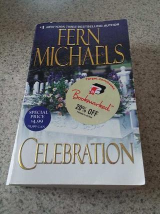 Fern Micheals Celebration PB Book Free Shipping