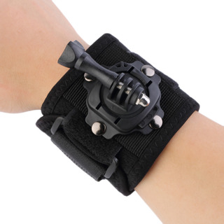 Gopro Accessories 360 Degree Rotating Wrist Hand Strap Band Tripod Mount Holder For GoPro Hero