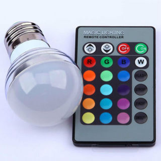 Brand New Color Changing Bulb w/ Remote
