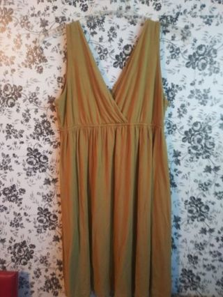 ❤ NY&C olive large spring/summer dress! ❤