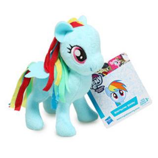 Hasbro My Little Pony Mini Plush Toy, Rainbow Dash.