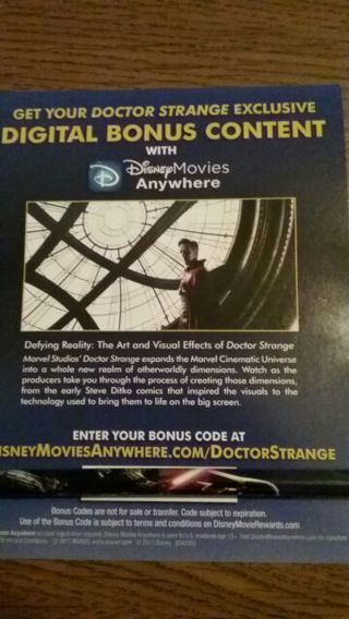 Doctor Strange digital bonus content