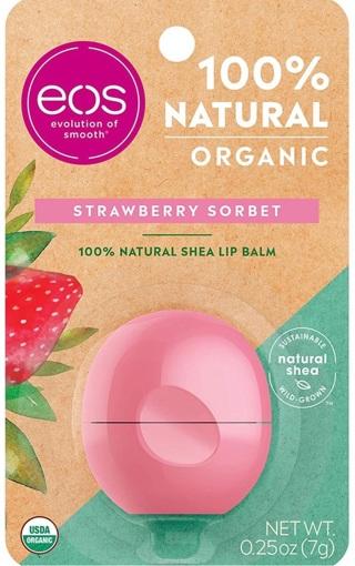 EOS: USDA Organic Lip Balm - Strawberry Sorbet