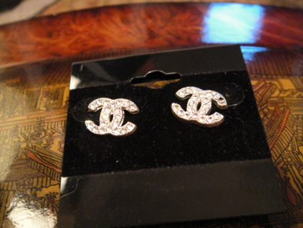 Dc Earrings Very Bling Perfect