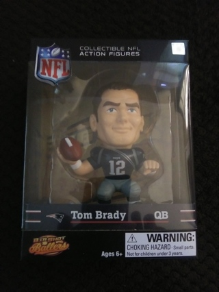 Tom Brady New England Patriots NFL Action Figure!