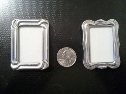 ~~LO?OK~~ Mini Silver Picture Frames ~~LO?OK~~