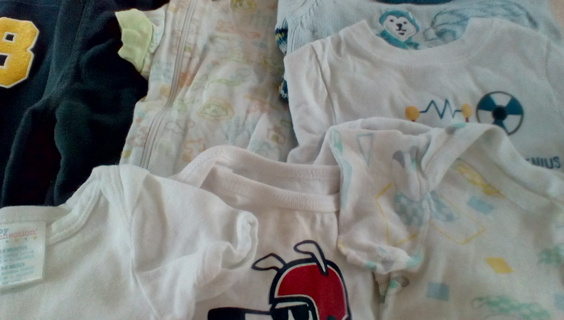 Infant Size (3-6) Months Clothing: GUC