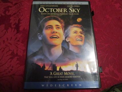 october sky movie/dvd
