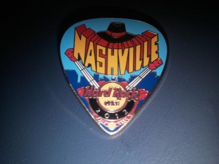 Hard Rock Cafe Postcard Pick Series 2012 Nashville Collectible Pin