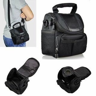 Camera Small Nylon Waterproof Shoulder Bag Case Handbag for Nikon Canon SLR