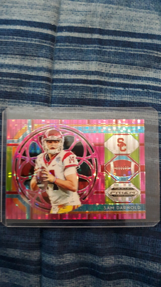Sam Darnold pink New York Jets