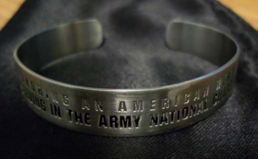 Army National Guard Hero Bracelet