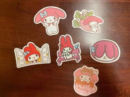 My Melody Stickers