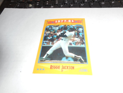 Free 1988 Score 1977 81 Nyyankees Reggie Jackson Baseball Card