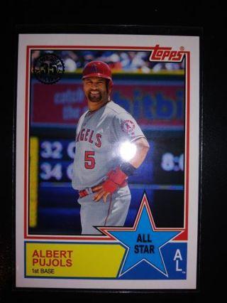 ✨✨2018 Topps 83' All-Star Alberts Pujols✨✨