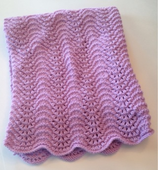 Knit Baby or Doll Blanket