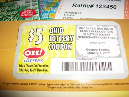 Free: Buy one get one free OHIO lotto ticket coupon! - Other