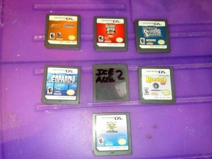 Nds Nintendo DS games, please read