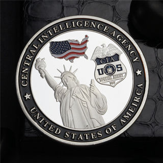 The Statue Of Liberty Central Intelligence Agency Commemorative Coin