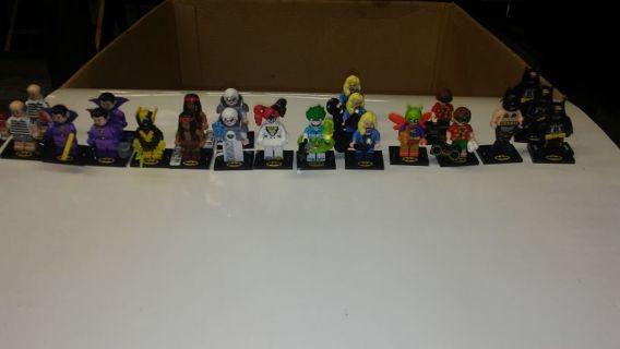 LEGO BATMAN MOVIE MINIFIGURE SERIES 2!!