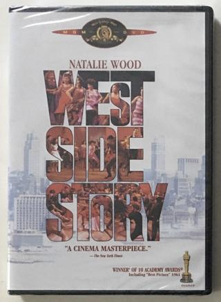 West Side Story 1961 Natalie Wood / Rita Moreno Movie (DVD, 2003) Brand New Sealed