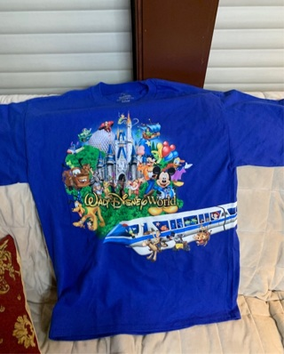 Brand New Kids Walt Disney World T Shirt