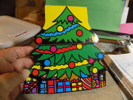 3D Christmas Tree word book for toddlers