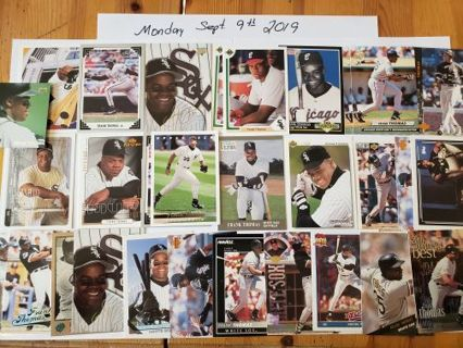 1990's Frank Thomas Collection 30 Card Lot. Beautiful Collection ready to Ship!