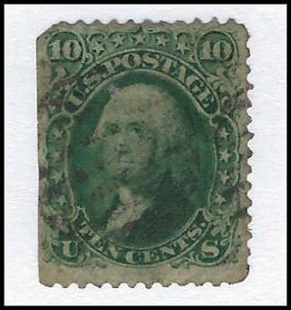1861 APEX Certified US stamp, Scott #68