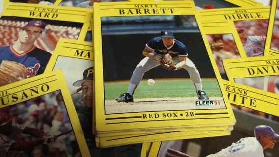 Free A Stack Of Baseball Cards Sports Trading Cards