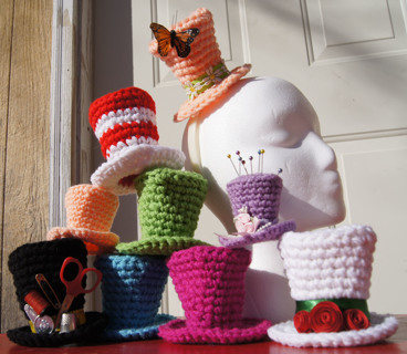 Free  Mini Top hat pattern pdf - Crochet - Listia.com Auctions for ... de41b180eb1