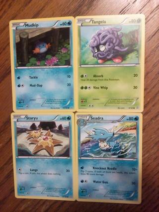 4 Primal Clash Pokemon Cards