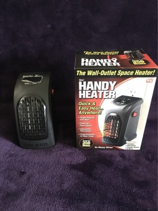 Handy Heater Wall Outlet Space Heater