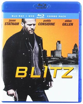 2018 BLITZ Blu-ray DvD Combo 2 Movie Disc-New & Sealed-Rated R
