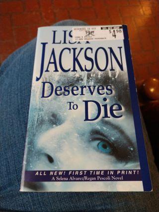 Deserves To Die by Lisa Jackson (paperback)