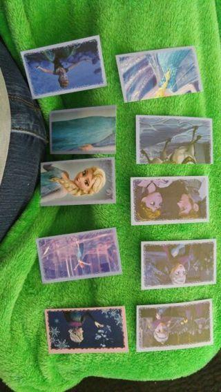 10 Frozen Panini Stickers (2013), Auction 3