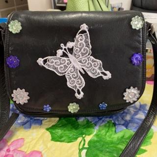 Leather Shoulder Handbag by Wilsons