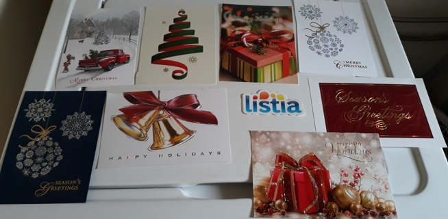 "12 Christmas Card FRONTS, 5"" x 7"" (PLEASE READ)"