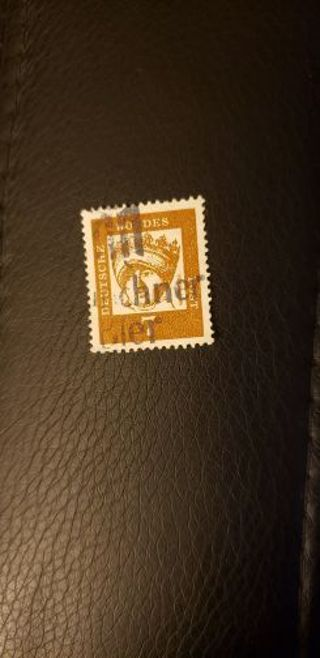 Germany stamp. Used